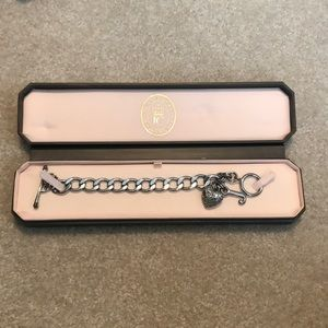 Juicy Couture Pave Heart Starter Bracelet